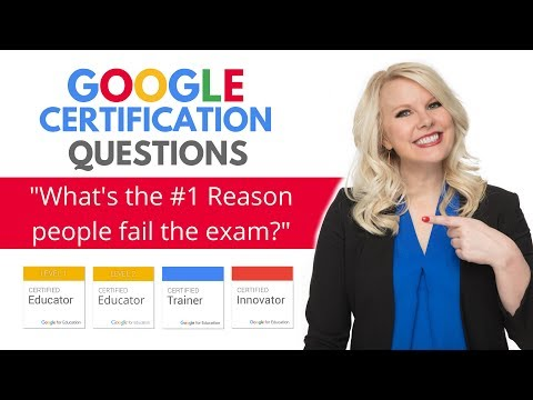 Google Certification Tips: What's the #1 reason people fail the ...