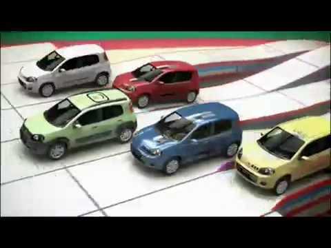 Novo Fiat Uno 2011: Segundo Comercial de Lançamento no Brasil