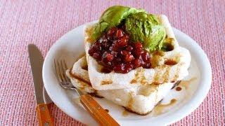 Moffles (Mochi Waffles) モッフルの作り方 – OCHIKERON – CREATE EAT HAPPY
