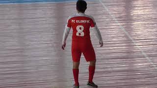 LLF Кызылорда  Зима 2018. 9-й тур Олимпик - Тарлан Батырлары 2-й тайм