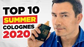 Top 10 Summer Fragrances For Men 2020