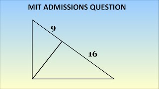 How To Solve An MIT Admissions Question From 1869