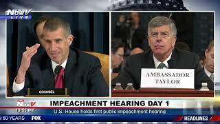 IMPEACHMENT HEARING PART 2: Witnesses Kent, Taylor wrap up testimony