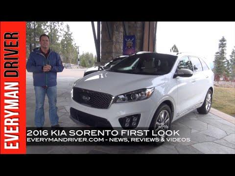 MY FIRST REVIEW: 2016 Kia Sorento on Everyman Driver, Dave Erickson