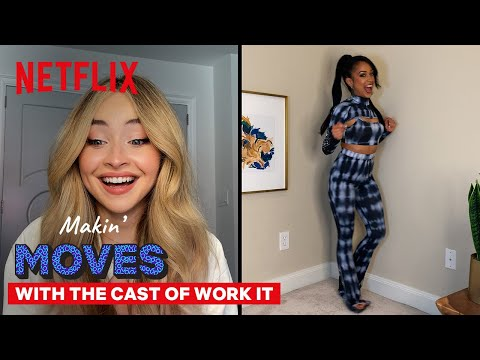 Sabrina Carpenter & Liza Koshy Judge Each Other's Dance Moves | Work It | Netflix