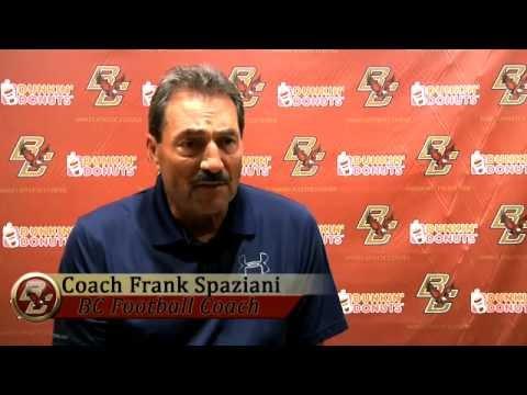 Coach Frank Spaziani Interview - Northwestern