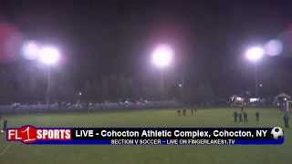 preview picture of video 'Section V Soccer ..::.. Naples vs. Red Creek ..::.. 10/27/12'