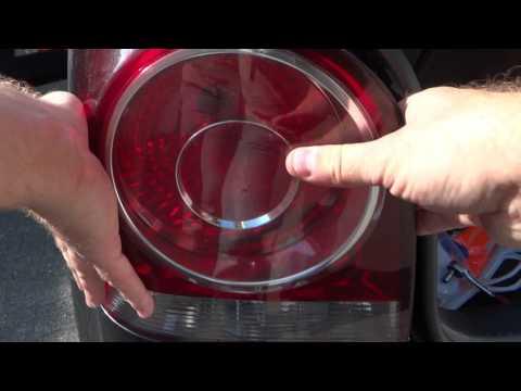 Tutorial DIY Volkswagen VW POLO 9N3 / 9N Rückleuchte abmontieren