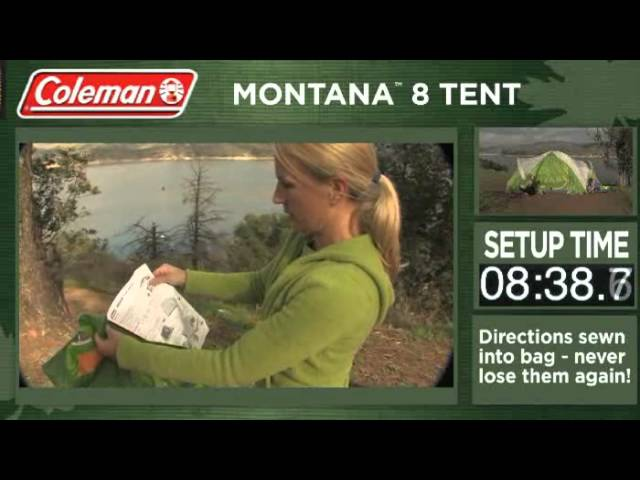One of the most popular tentu0027s for the money Colemanu0027s Montana 8 & What are the best tents for camping ? Mar 2018 | OptimumTents