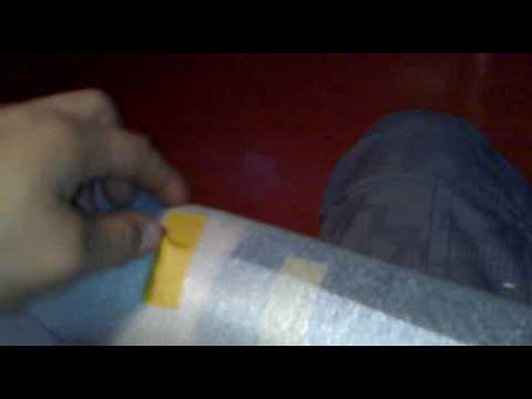 Ouverture colis Foilenceter24 papier 3M Cabone