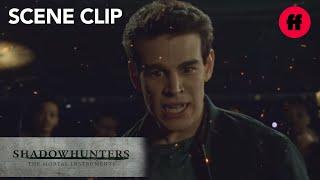 Shadowhunters | Season 2, Episode 15: Simon Defeats Quinn | Freeform