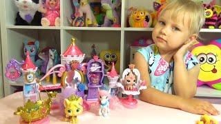 Питомцы принцесс Диснея Салон красоты Кошечка и лошадка Pets of the Disney princesses toy