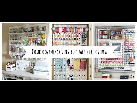 INSPO - Ideas para organizar vuestro cuarto de costura