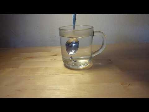 כפית נעלמת בתוך כוס - טריק מדהים!