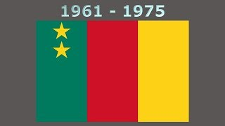 History of the Cameroon flag