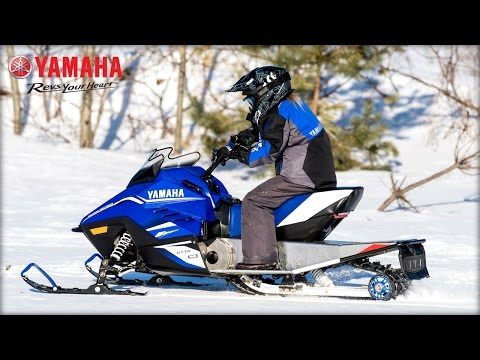 2018 Yamaha SRX 120 in Honesdale, Pennsylvania