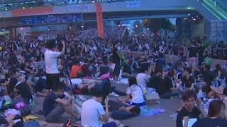 Peaceful Demonstrations In Hong Kong