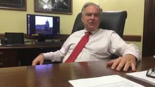 "Sen. Tim Kaine on the ""Skinny"" Bill (7/27/17)"