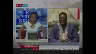 Friday Briefing: Mind your language with Willice Ochieng', November 25th 2016