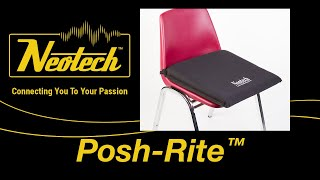 Posh-Rite™ Self-Inflating Seat Cushion