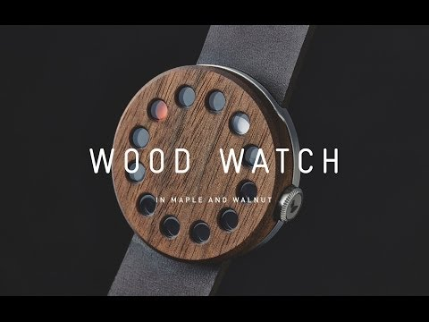 The Grovemade Wood Watch
