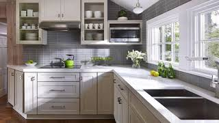 Modern Kitchen Gray Color   Gray Interior Room Design