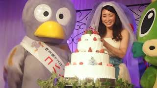 ひっぱりガールズのリーダー村田綾さんが、ついに埼玉と結婚した!?清水園2017.11.23