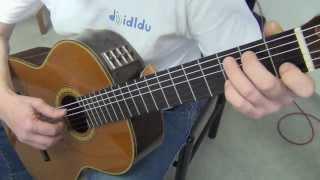 preview picture of video 'Didldu © Schule Gitarre - Wos woas i (Walzer mit verschiedenen Bässen!)'