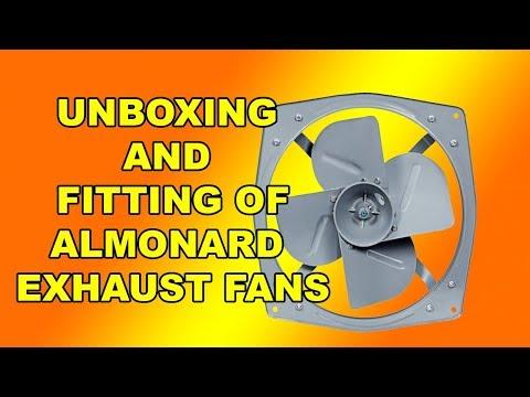 almonard exhaust fan latest price