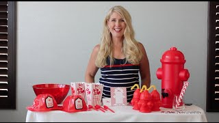 Kid's Party Theme: Firefighter Theme