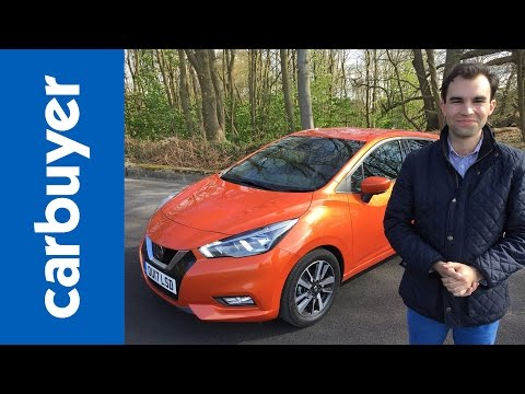 New Nissan Micra 2017 Hatchback Review - James Batchelor - Carbuyer