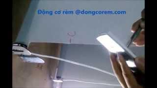 preview picture of video 'hướng dẫn căn chỉnh giới hạn của rèm cuốn tự động'