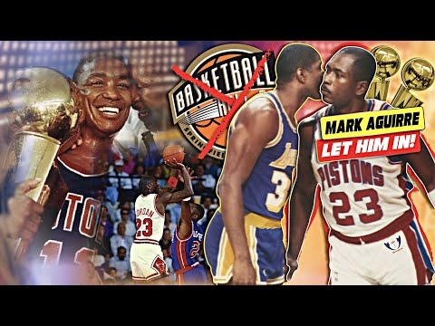 At 61! How's MARK AGUIRRE Not HOF? Stunted Growth