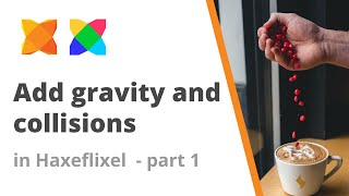 9. How to add gravity to a sprite and collisions in Haxeflixel - Part 1