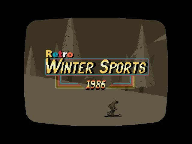 Retro Winter Sports 1986 Trailer YouTube