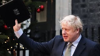 video: Boris Johnson offers Christmas message of unity after winning historic landslide