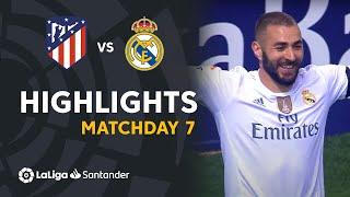 Highlights Atlético de Madrid vs Real Madrid (1-1) Matchday 7 2015/2016
