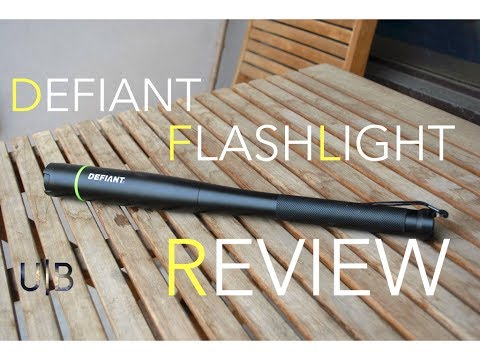 LED Flashlight Review – Cool baseball bat design!