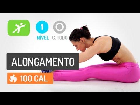 Você pode alongar o corpo inteiro em 10 minutos!