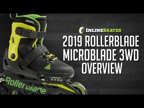 Video: 2019 Rollerblade Microblade 3WD Youth Skate Overview by InlineSkatesDotCom