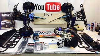 LOSI 5IVE-T IN SHOP WRENCHING LIVE