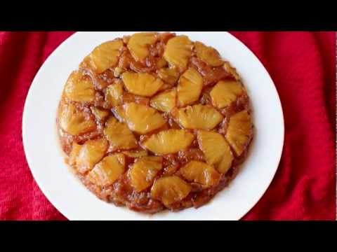 Pineapple Upside-Down Cake Recipe – Fresh Pineapple Coffee Cake