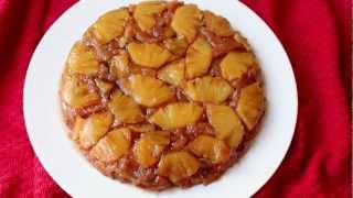 recipe for pineapple upside down cake made with fresh pineapple