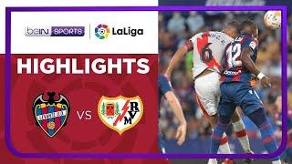 Levante 1-1 Rayo Vallecano Pekan 4