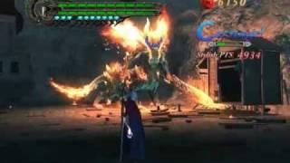 Devil May Cry 4 - Boss Battle 1 Berial - Nero