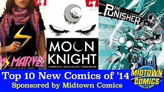 Top 10 New Comic Books of 2014: Ms Marvel, Ghost Rider, Amazing Spider-Man, Batman