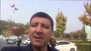 Андрей Тищенко на молитвенной горе в Корее!