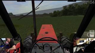 farming simulator 17 / sandy bay multiplayer / day 2 / with dad