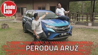 Review Paling Panjang & Paling Jujur Pasal Perodua Aruz 2019
