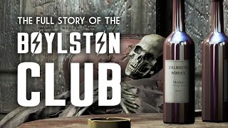 The Full Story of the Boylston Club - Fallout 4 Lore